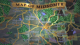 Midsomer Murders: Map of Midsomer County