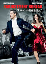 The Adjustment Bureau (DVD Cover)