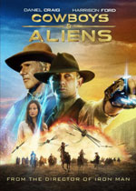 Cowboys & Aliens (DVD Cover)