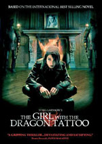 Män Som Hatar Kvinnor (The Girl with the Dragon Tattoo) (DVD Cover)