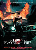 Flicken Som Lekte Med Elden (The Girl Who Played with Fire) (DVD Cover)