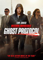 Mission: Impossible Ghost Protocol (DVD Cover)