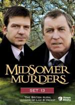 Midsomer Murders Set 13 (DVD Cover)