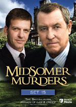 Midsomer Murders Set 15 (DVD Cover)