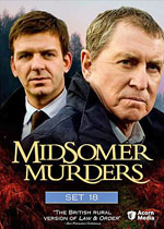 Midsomer Murders Set 18 (DVD Cover)