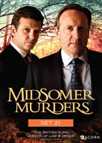 Midsomer Murders Set 21 (DVD Cover)