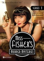 Miss Fisher's Murder Mysteries Series 1 (DVD Cover)