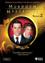 Murdoch Mysteries Season Two (DVD Cover)