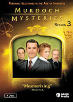 Murdoch Mysteries Season 3 (DVD Cover)
