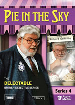 Pie in the Sky Series 4 (DVD Cover)