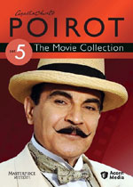 Agatha Christie: Poirot Set 5, The Movie Collection (DVD Cover)