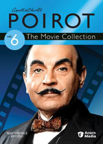 Agatha Christie: Poirot Set 6, The Movie Collection (DVD Cover)