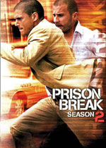 Prison Break Season Two (DVD Cover)