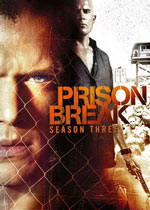 Prison Break Season 3 (DVD Cover)