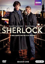 Sherlock Season 1 (DVD Cover)