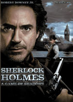 Sherlock Holmes: A Game of Shadows (DVD Cover)
